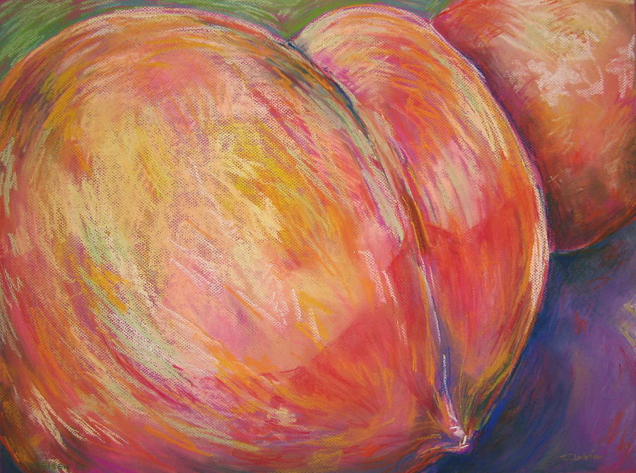 Peach Bottom by Outre Art  Natalie Eisen