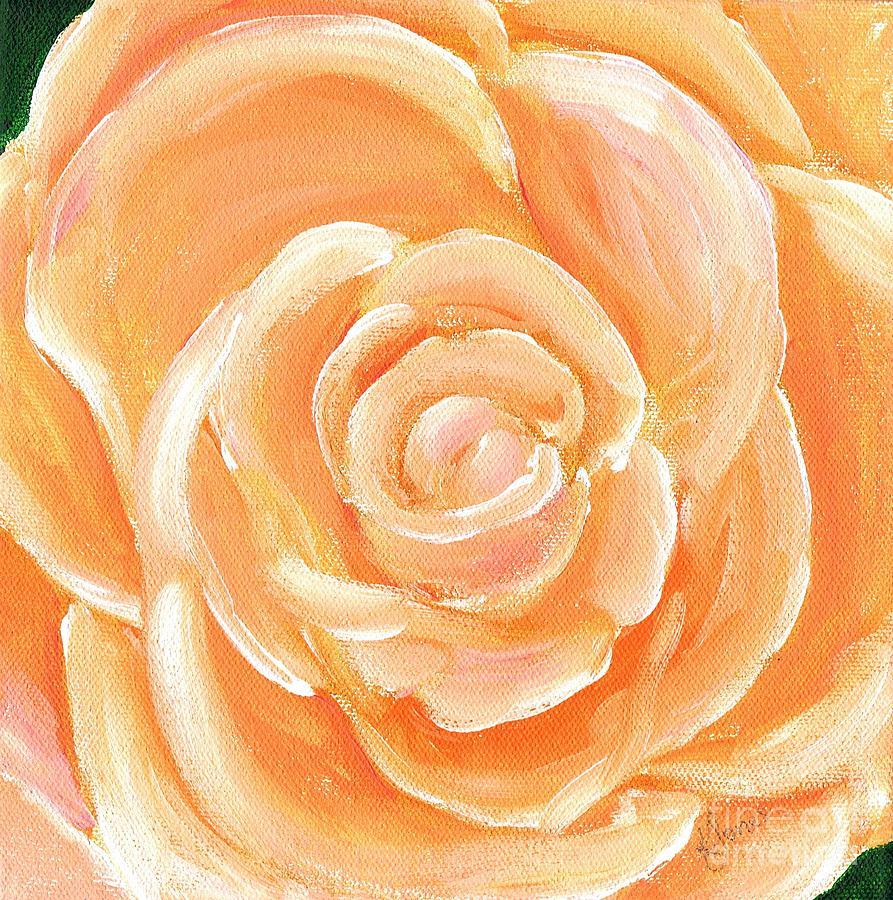 Peach melba by Karen Jane Jones