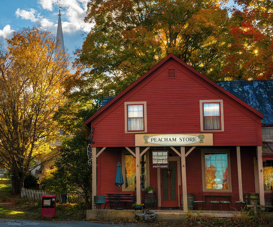 Peacham Vermont General Store by Expressive Landscapes Nature Photography