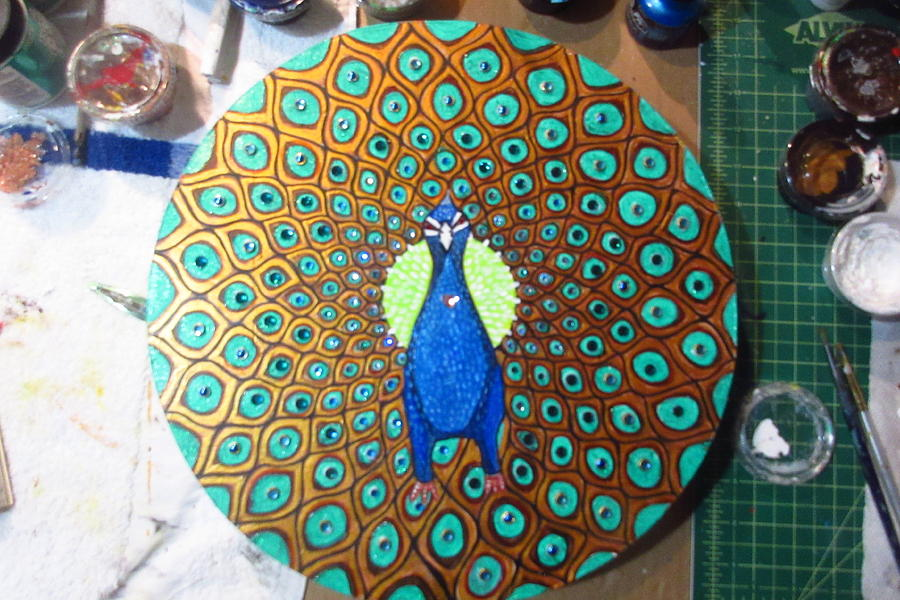 Peacock by Patricia Arroyo