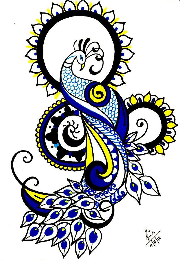 Peacock by Tina Mathew
