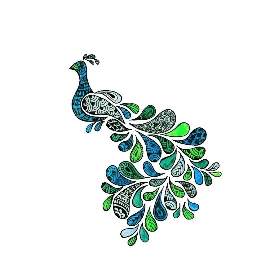 Peacock Zia by Chaitanya Deepti