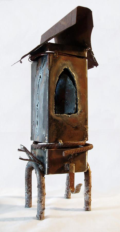 Emotion Sculpture - Peak Arch Door   View One by Kim Iberg