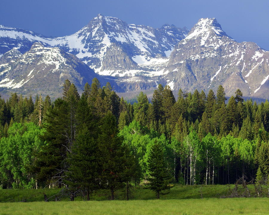 Mountains Photograph - Peaks by Marty Koch