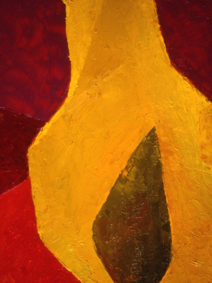 Still Life Painting - Pear Shaped by Chris  Riley