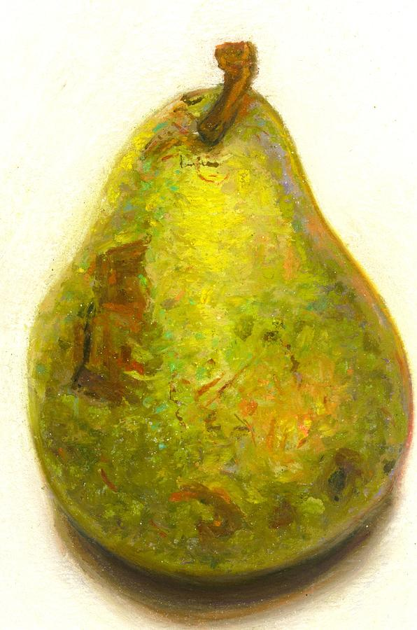Pear Study II Painting by Cameron Hampton PSA