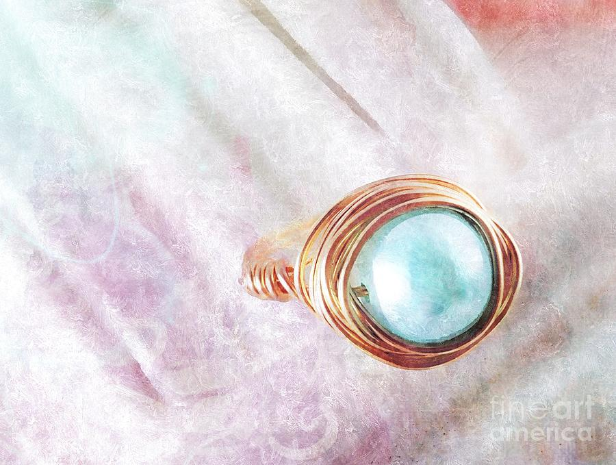 Pearl Cocktail Ring Photograph
