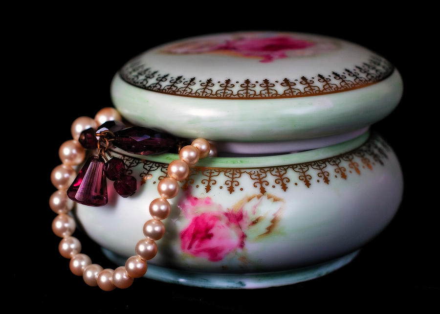 Jewelry Photograph - Pearls And Beads by June Marie Sobrito