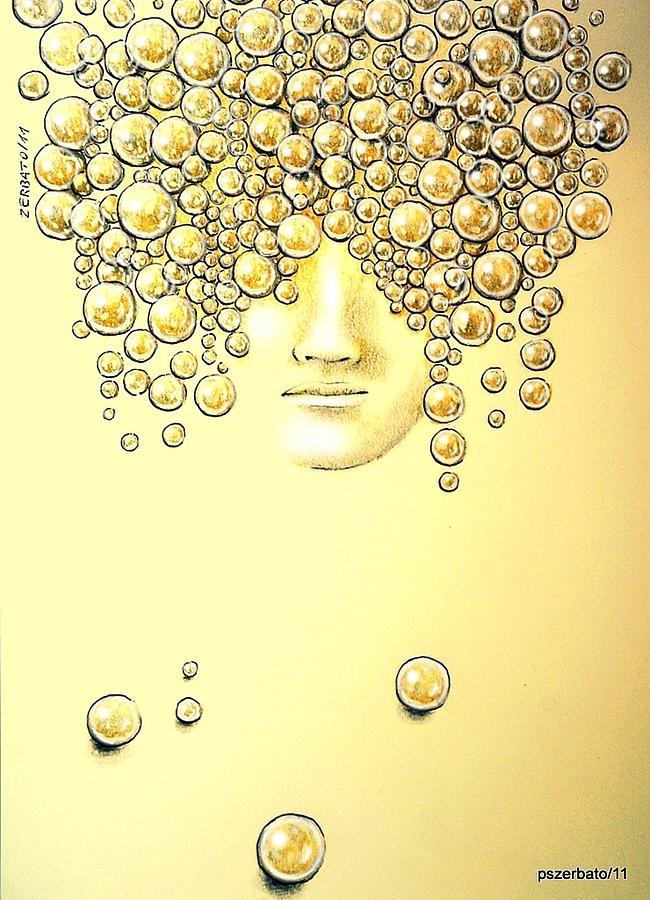 Pearls Of Wisdom Digital Art - Pearls Of Wisdom by Paulo Zerbato