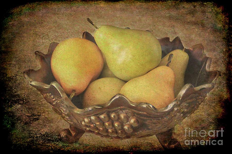 Pears by Irene Dowdy