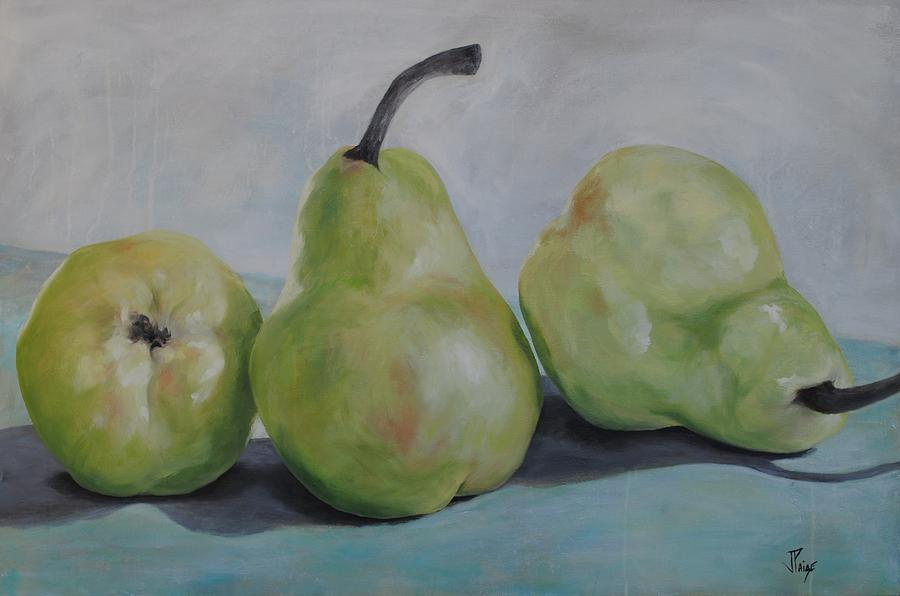 Pears Painting - Pears by Julie Clanton