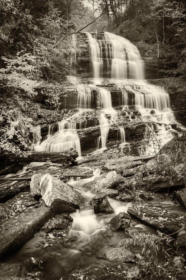 Autumn Photograph - Pearsons Falls by Joye Ardyn Durham
