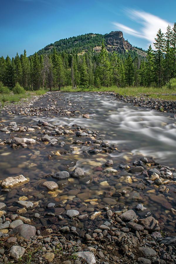 Pebble Creek Photograph