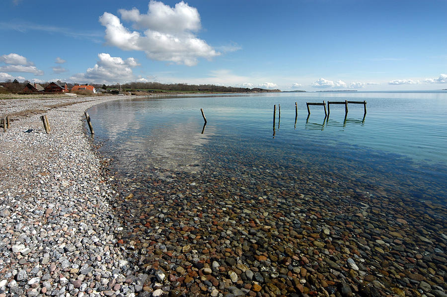 Beach Photograph - Pebbled Beach Denmark by Robert Lacy