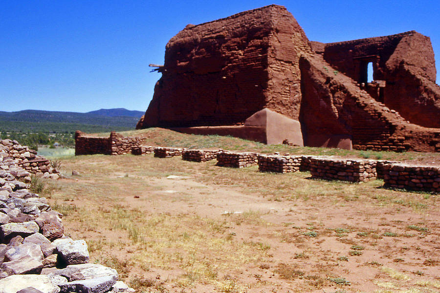 Pecos National Monument Photograph - Pecos Mission New Mexico - 2 by Randy Muir