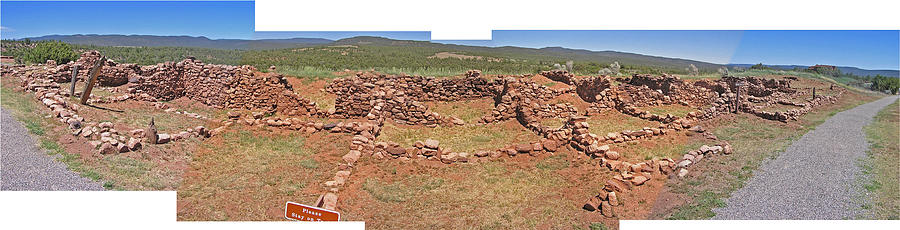 Pecos National Monument Photograph - Pecos National Monument - 4 by Randy Muir