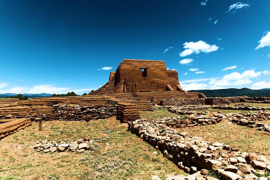 Pecos Ruins New Mexico Photograph