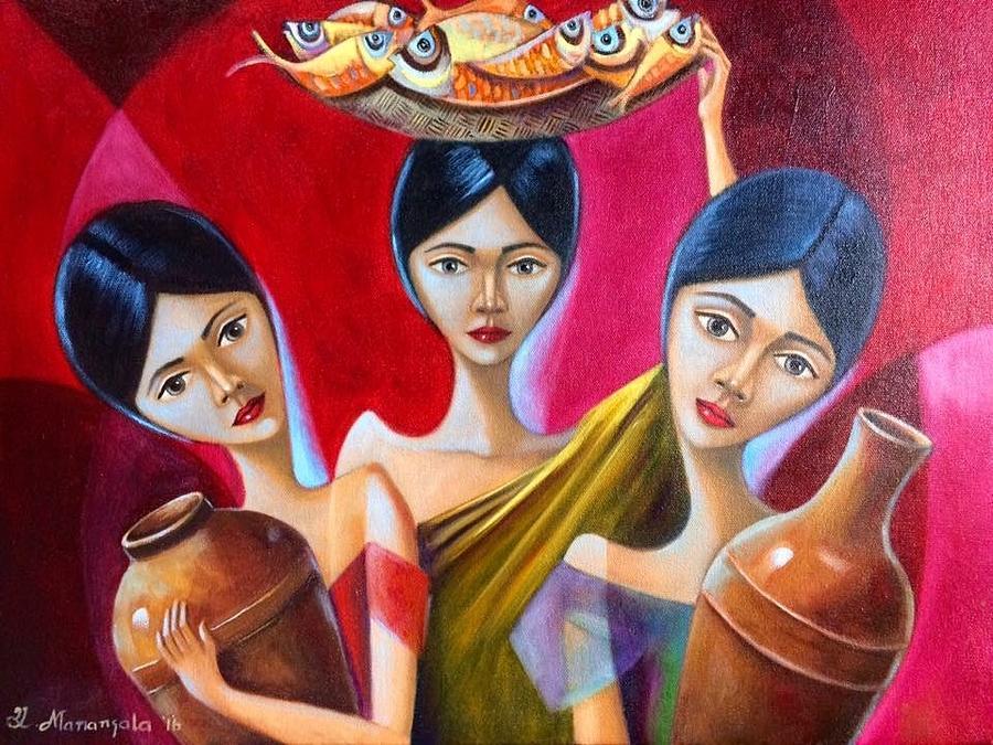 Peddle Painting by Khristina Manansala