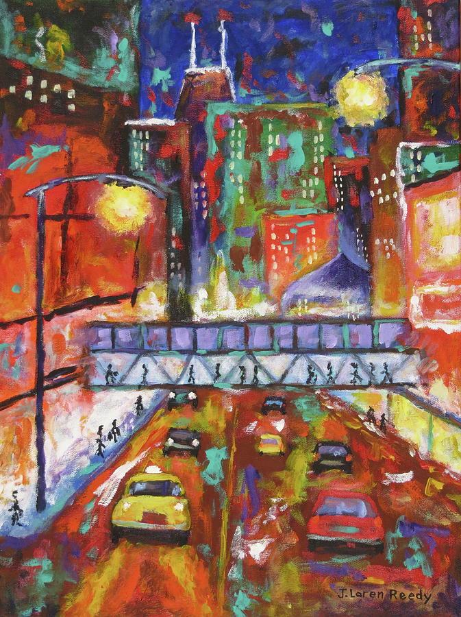Pedestrian Bridge by J Loren Reedy