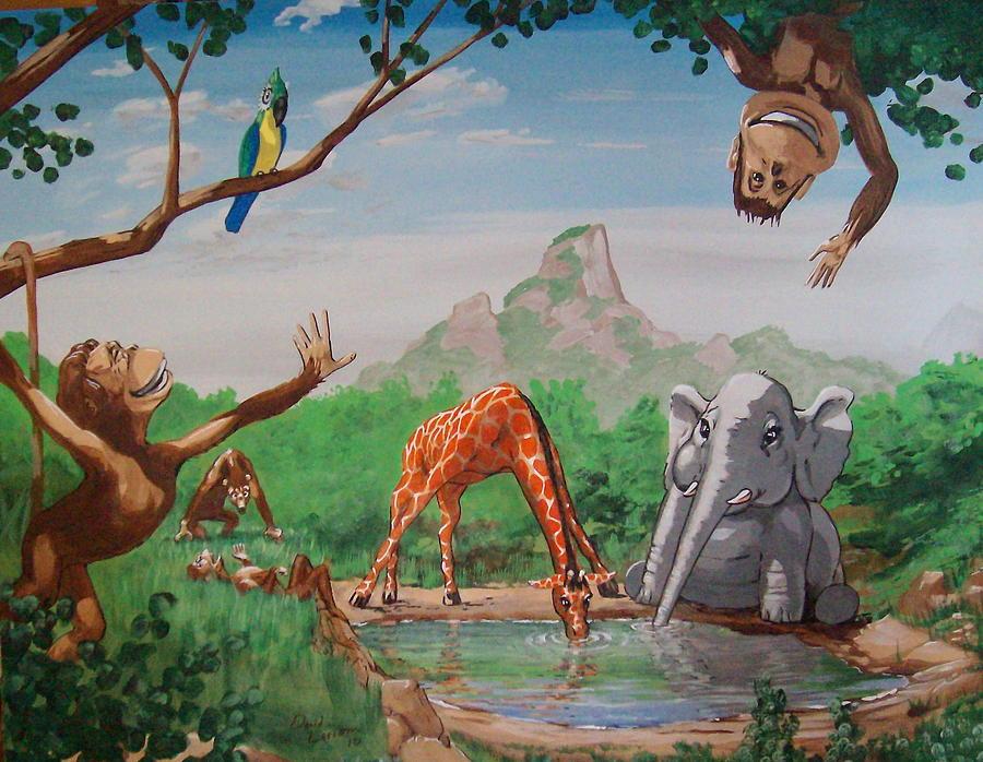 Pediatrics Painting by David  Larcom