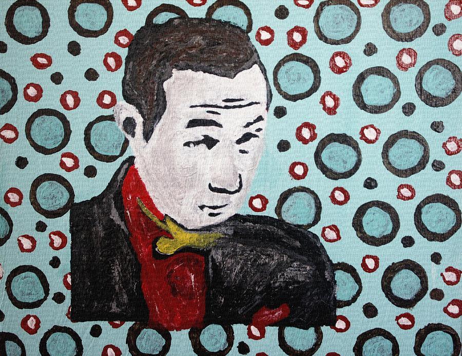 Pee-wee Herman Painting - Pee Wee Herman by April Harker