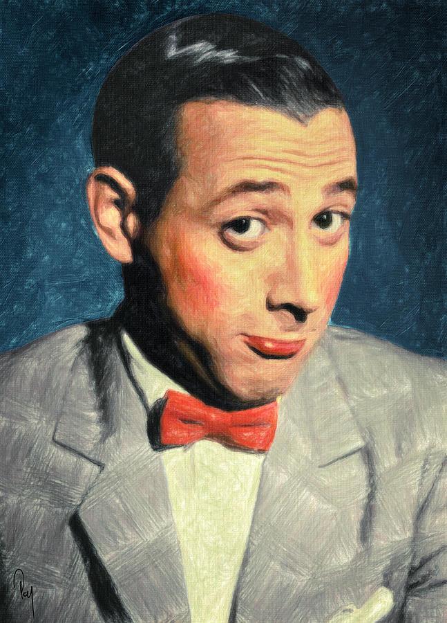 Pee-wee Herman Painting - Pee-wee Herman by Zapista Zapista