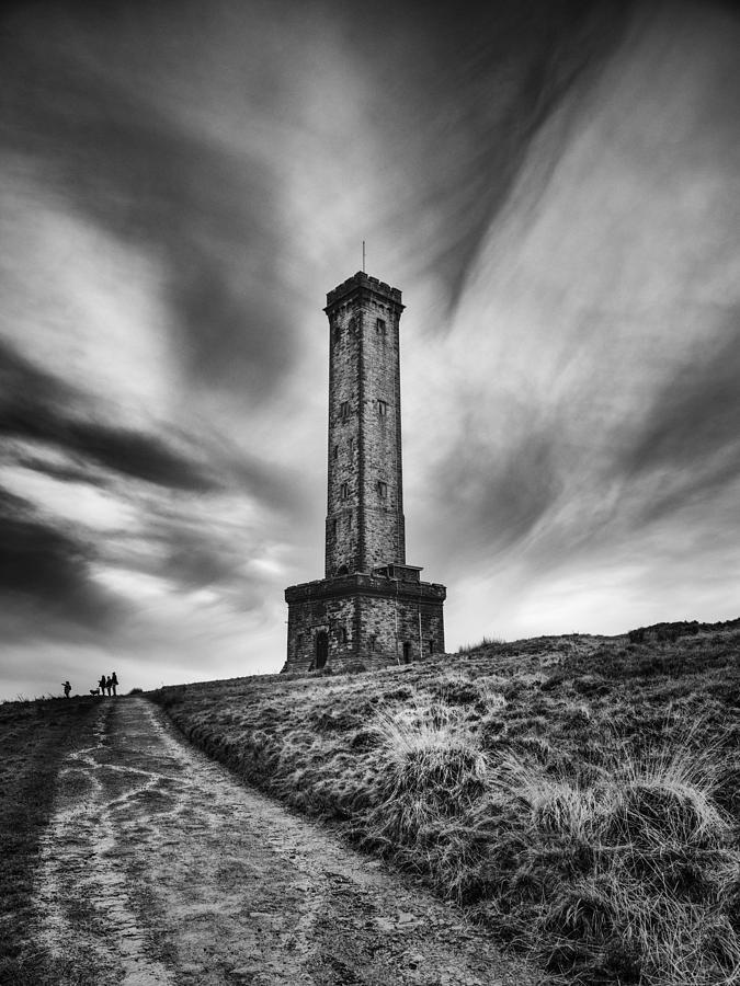 Peel Tower Photograph By John Ealing