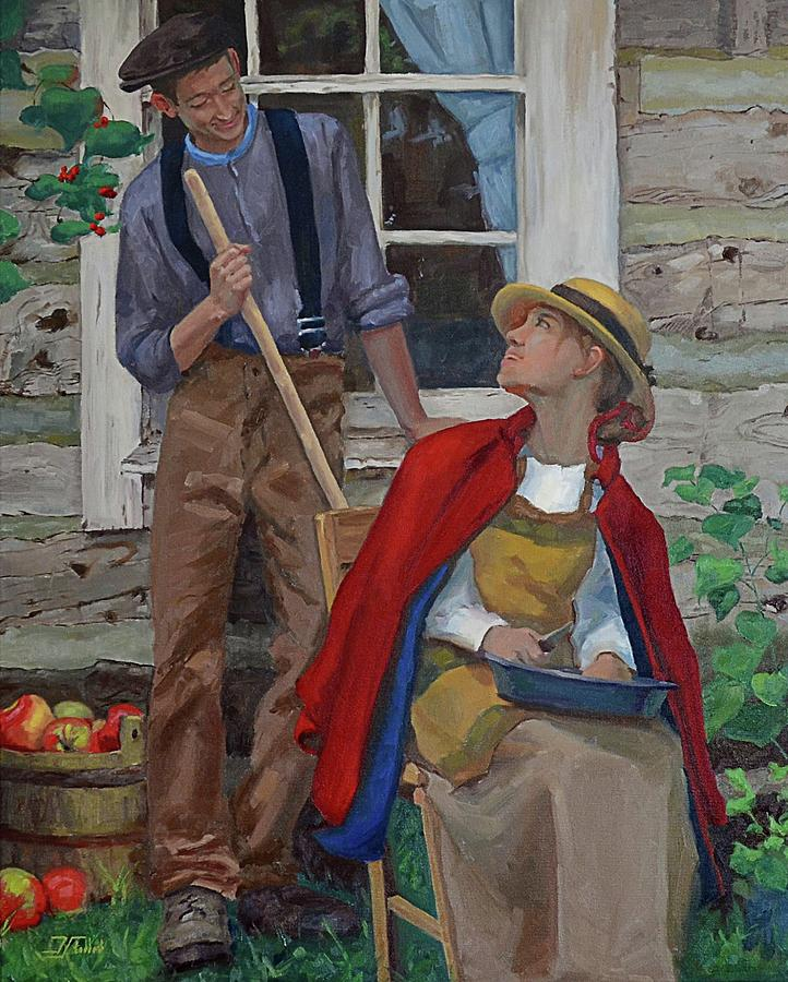 Peeling Apples by Jan Christiansen