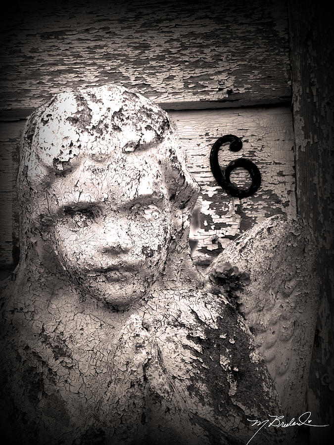 Angel Photograph - Peeling Paint Number 6 by Melissa Wyatt