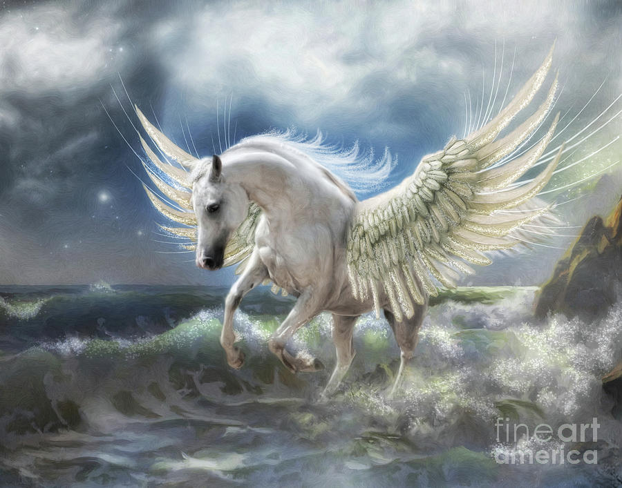 Pegasus Rising by Trudi Simmonds