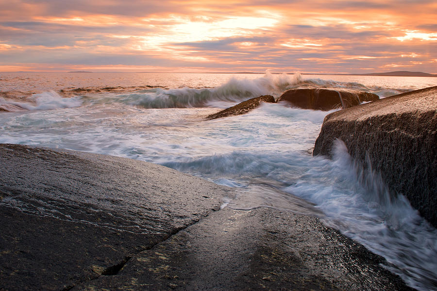 Nova Scotia Photograph - Peggys Cove - Nova Scotia by Andre Distel