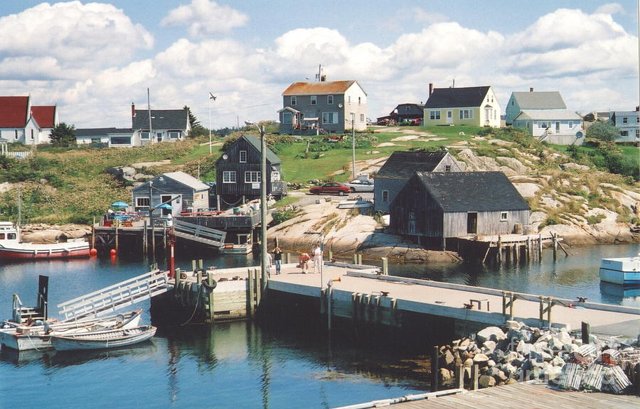 Peggy's Cove Photograph - Peggys Cove by Andrea Simon