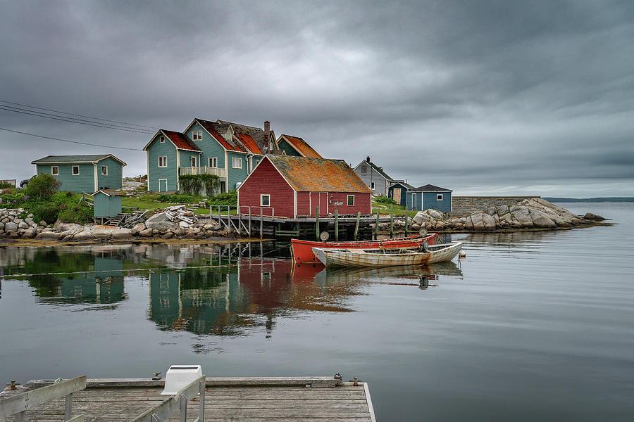 Peggy's Cove, Nova Scotia by Glenn Springer