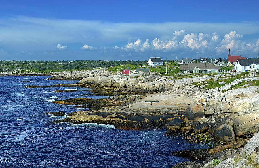 Peggy's Cove by Rodney Campbell
