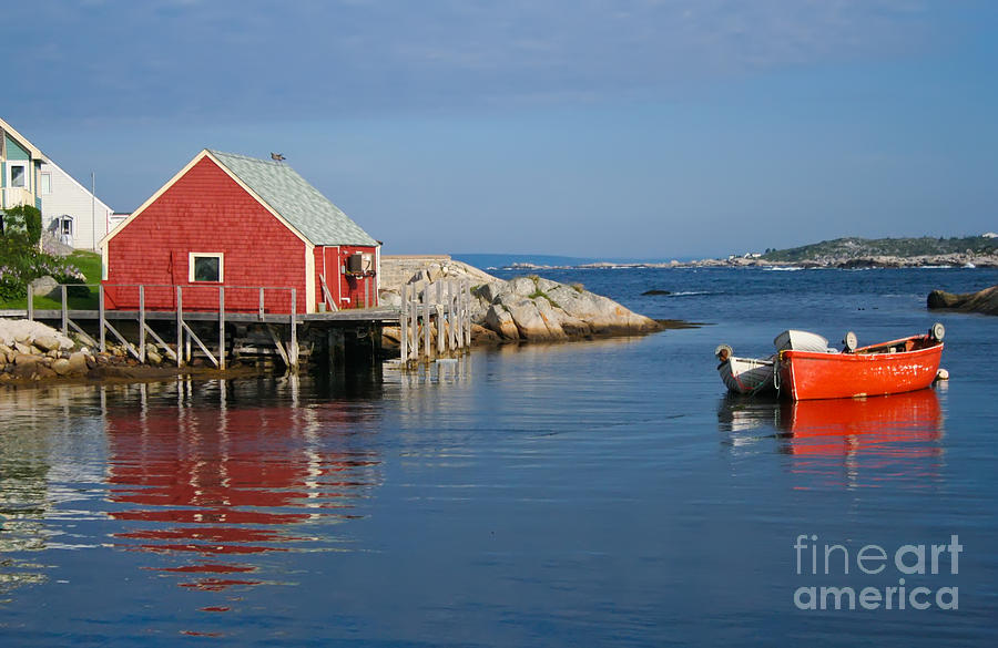 Peggy's Cove Photograph - Peggys Cove by Thomas Marchessault