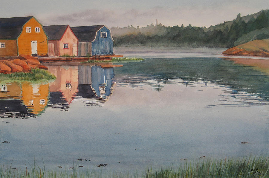 Pei Painting - P.e.i. Morning by Debbie Homewood