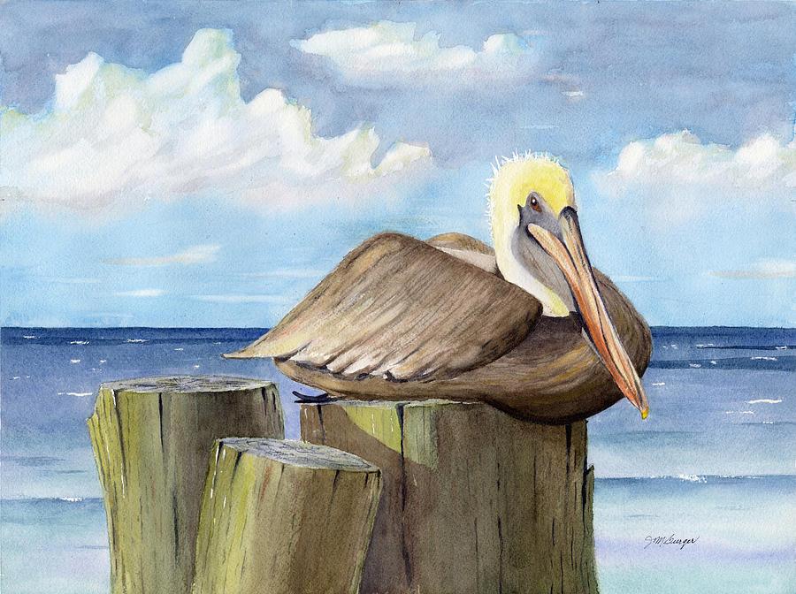 Pelican Perch by Joseph Burger