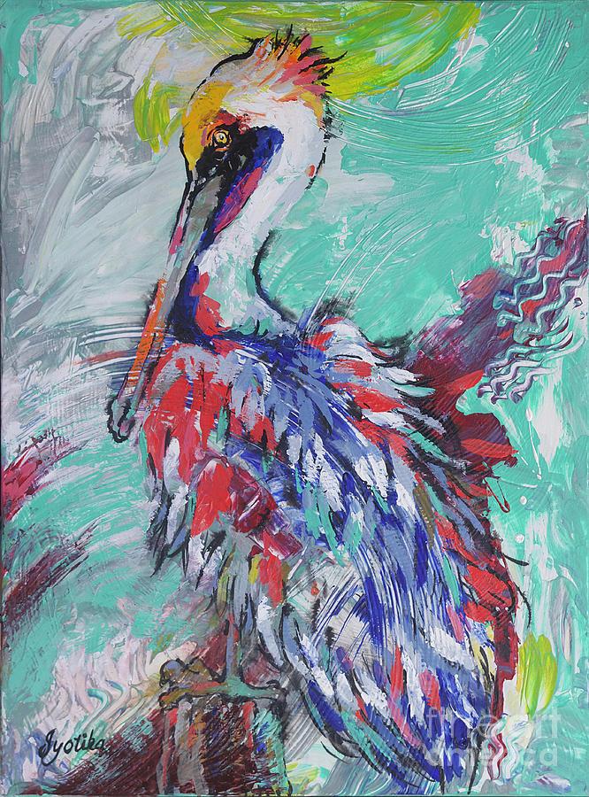 Pelican Perch by Jyotika Shroff