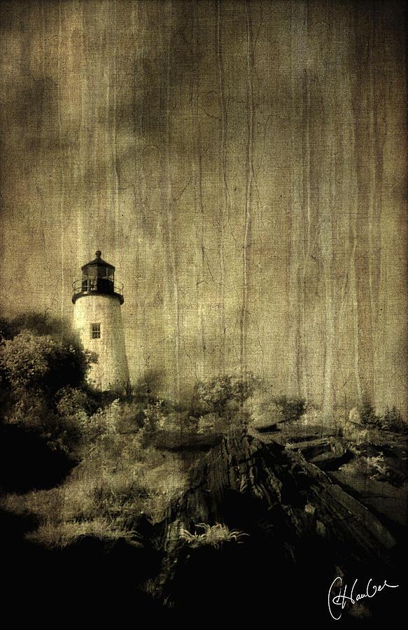 Water Photograph - Pemaquid Point by Christine Hauber