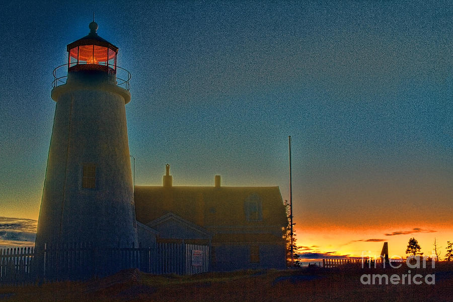Pemaquid Point Lighthouse by Photography by Laura Lee