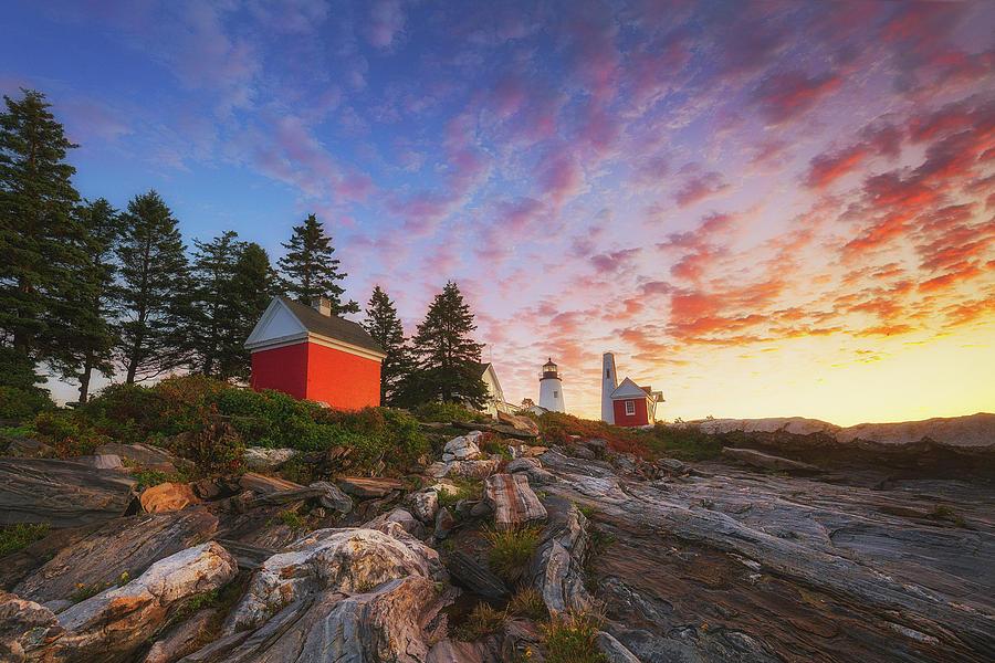 2017 Photograph - Pemaquid Sunrise by Robert Clifford