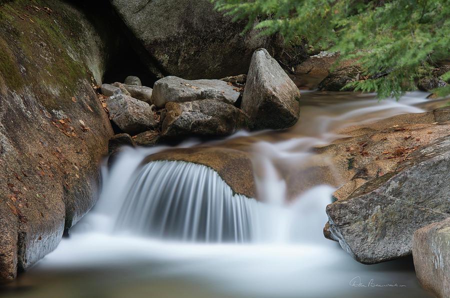 Pemigewasset Cascade 8291 Photograph