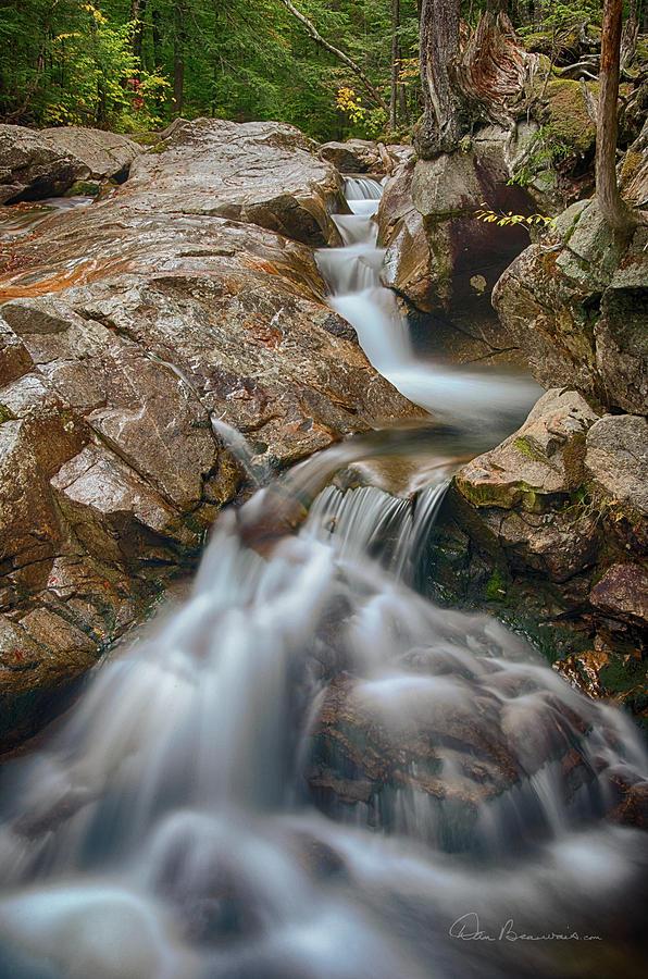 Pemigewasset Cascade 8378 Photograph