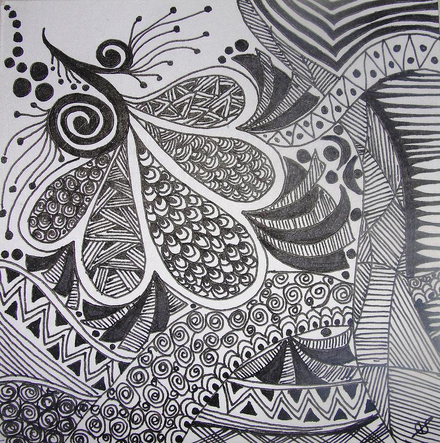Pen Painting 6 Drawing By Shilpi Patel