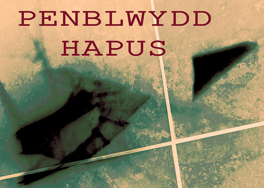 Penblwydd Hapus - Happy Birthday Abstraction 2018 by James Warren