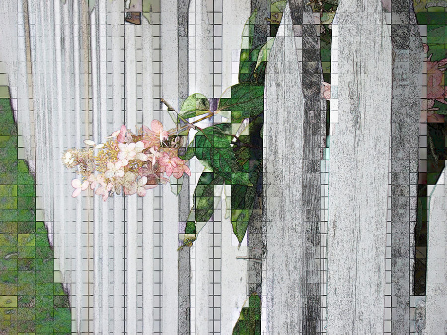 Photoshop Photograph - Pencil Mosaic by Tingy Wende