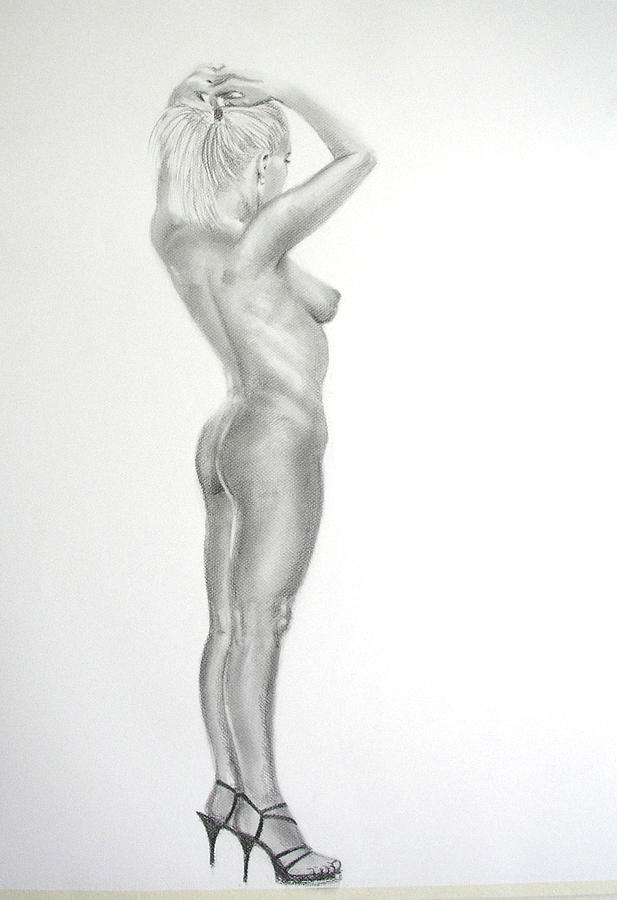 Nude pencil art