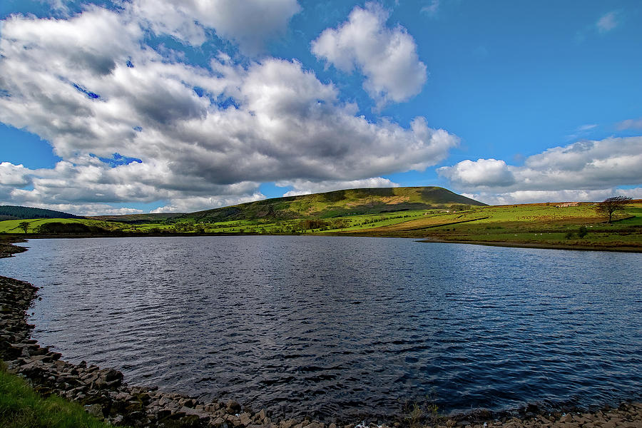 Pendle Hill Photograph - Pendle View by Andrew Rothwell