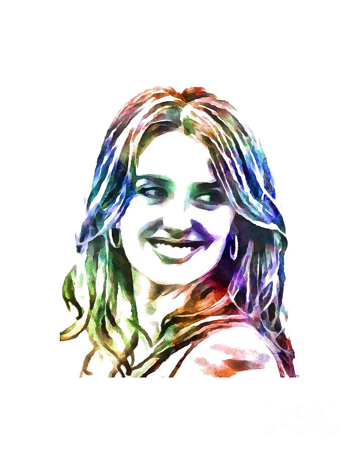Art print POSTER Spanish Actress Penelope Cruz