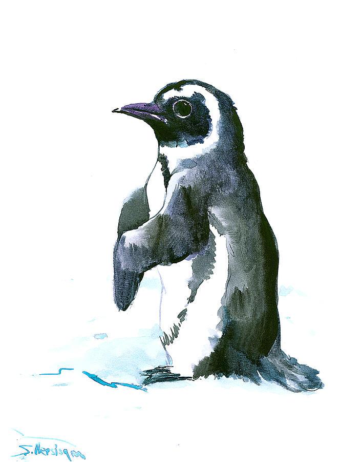 Penguin Painting - Penguin by Suren Nersisyan